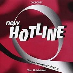 Hutchinson, Tom - New hotline Starter class audio  CDs