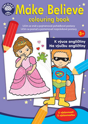 Make Believe colouring book