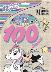 100 samolepek Minnie