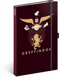 Notes Harry Potter Gryffindor linkovaný